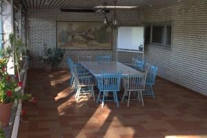 Seemoorhof Schneverdingen: Seminarraum im Wintergarten