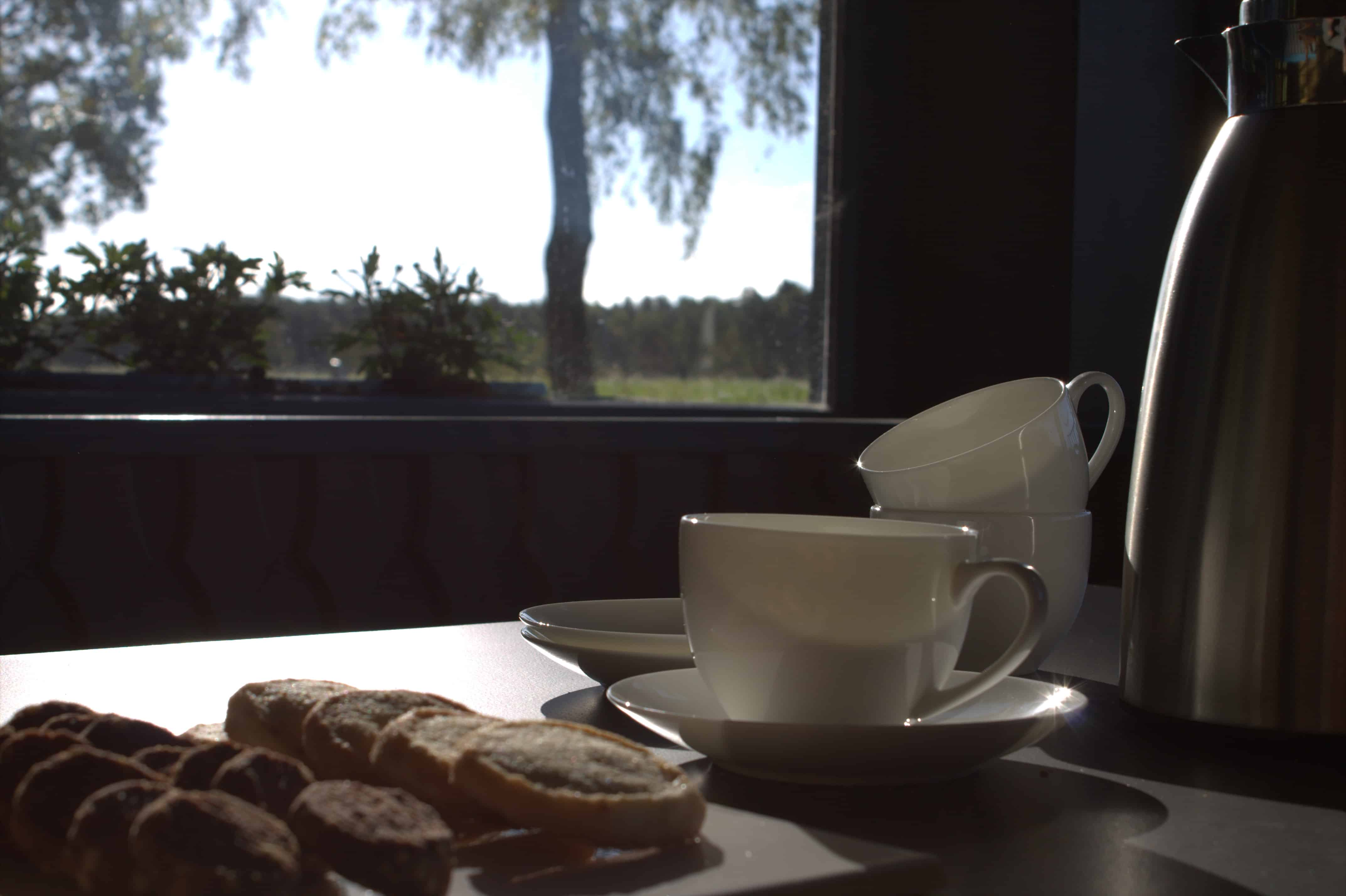 Seemoorhof-Seminare - Pausenverpflegung: Gebäck und Säfte aus eigener Herstellung
