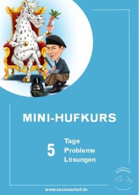 Titelbild Mini Hufkurs Seemoorhof 5 Tage 5 Probleme 5 Aufgaben